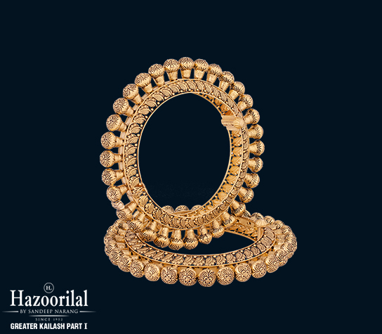 Buy Gold Bangles Online in India